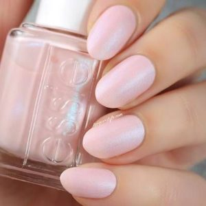 Light Pink Cashmere essie nail color