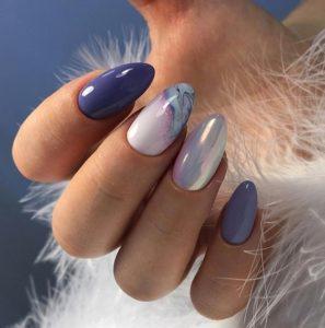 sea shells Gel Nails