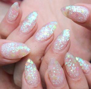 stars Gel Nails