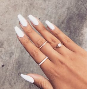 Simple Pointy Stiletto Nails