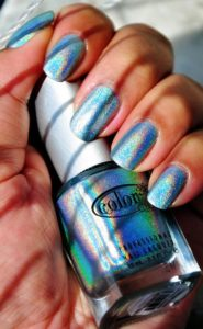 Blue Nail Lacquer