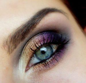 Holographic Ombre Eyeshadow