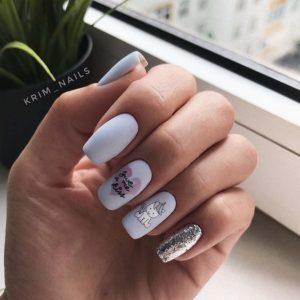 unicorn nail design