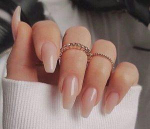natural nude nails