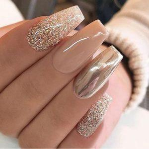 mirror nude nails