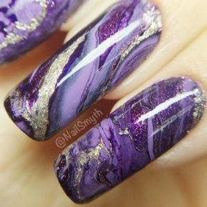 Precious Stone Nail Design