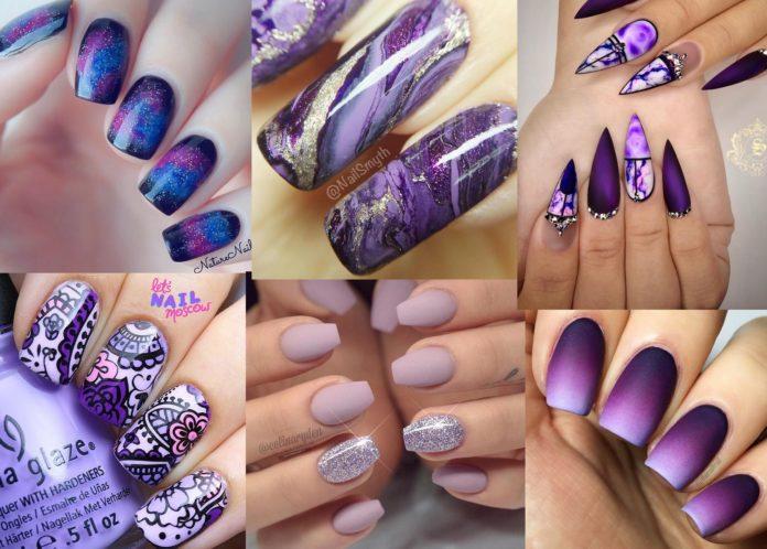 Best Purple Nail Designs