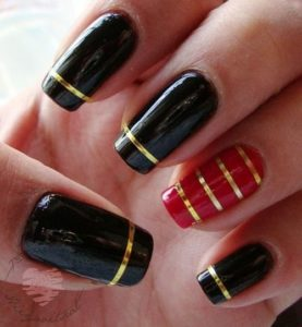 Gold Special nails