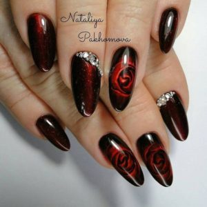 Mysterious Girl nails