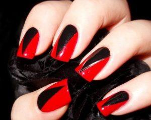 Triangle Design nails