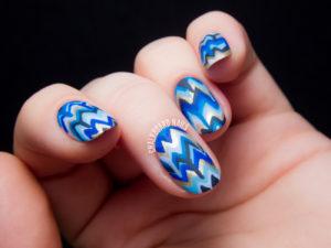 blue nail designs