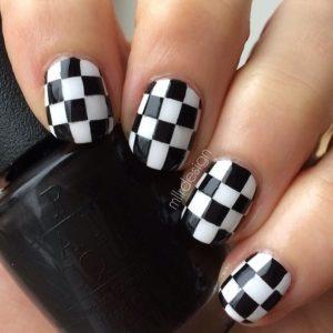 check board nails