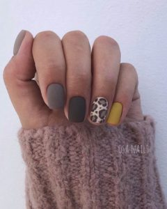 gray animal pattern nals