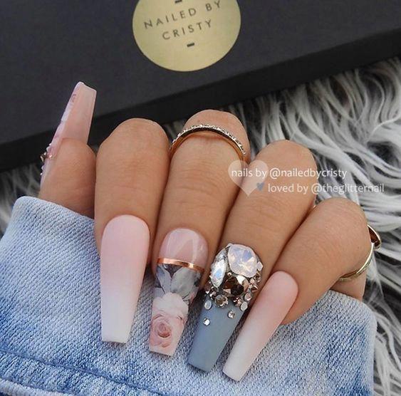 Cute Acrylic Nail Designs 2019 Acrylic Nail Art Ideas
