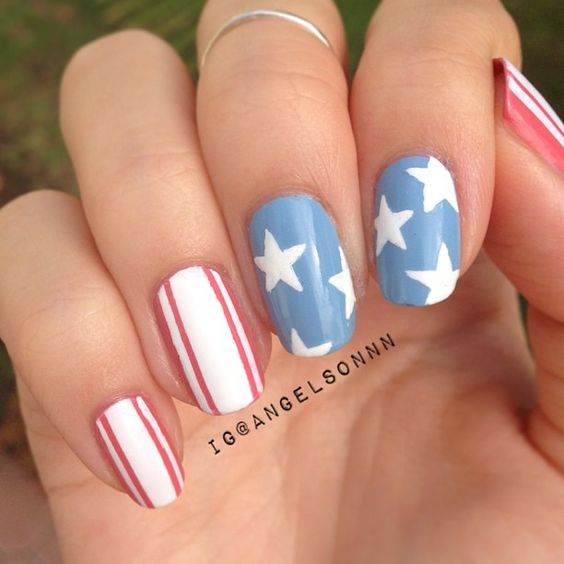 Festive 4th Of July Nails To Try This Summer