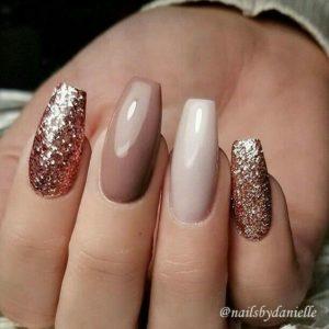 Beige Nail Color Designs