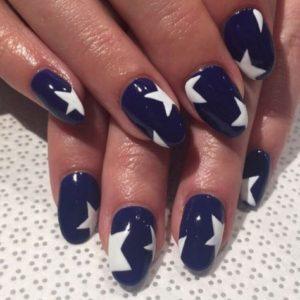 undone star nails