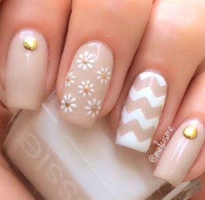 beige flowers