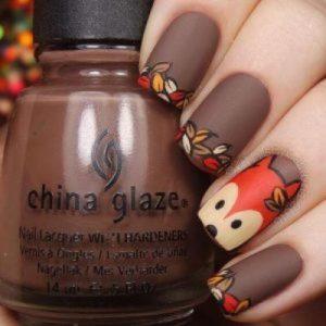 cute foxy nails