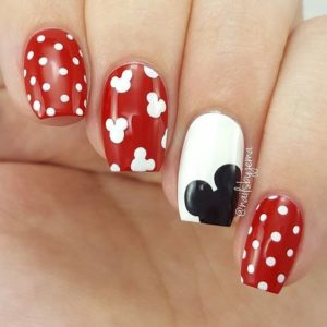 mickey mouse dots
