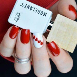 red heart stripe