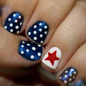 american nail art