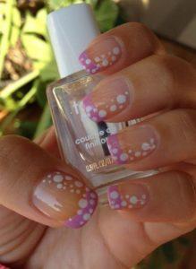 pink tip dots