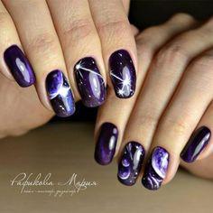 stars and sky purple