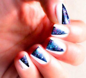 galaxy white blue