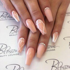 beige crystal white