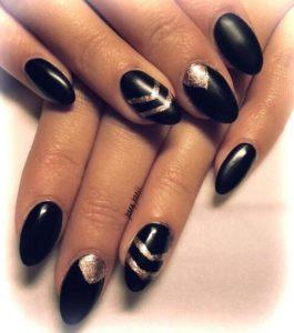 black triangle stripe