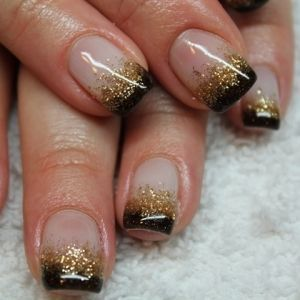 black gold tips