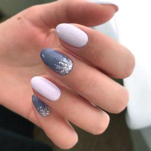 grey white glitter