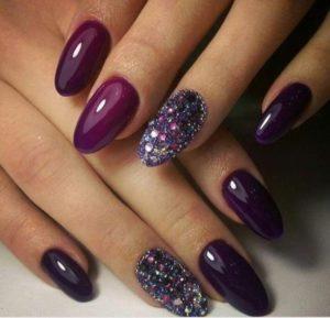 glitter burgundy