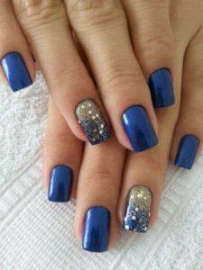 cobalt blue glitter