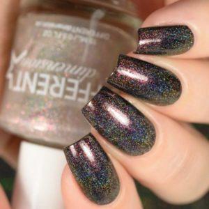 multi color glitter dark