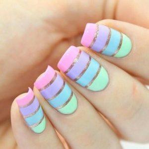 pastel tones