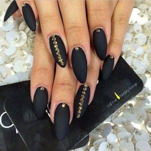 long matte black