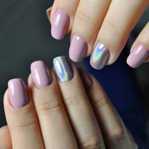 short iridescent