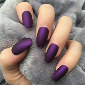 deep matte purple