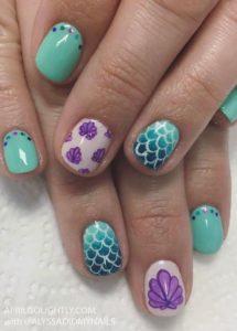 purple shells scales
