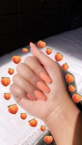 simple coral long