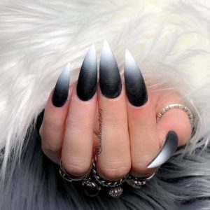 goth ombre