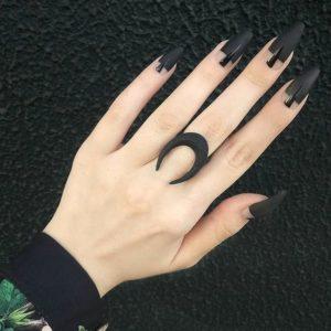 black matte clear
