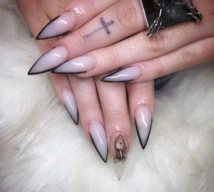 nude black stripe