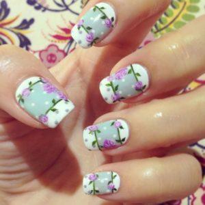 polka dot flowers