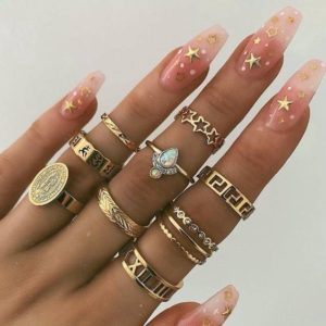 stars coffin nails