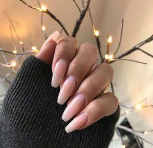 long Natural Looking Acrylic Nails
