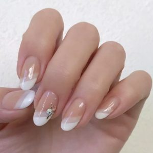 Two tone French Manicure