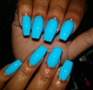 neon nail polish shade